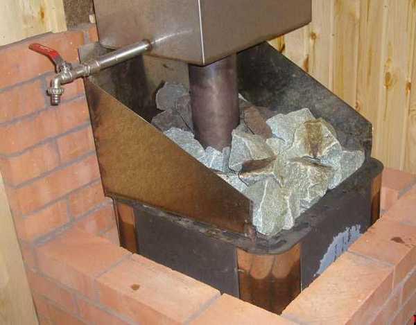 печь в баню