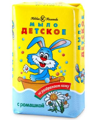Мыло с ромашкой «Невская Косметика Детское»