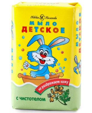 Мыло с чистотелом «Невская Косметика Детское»