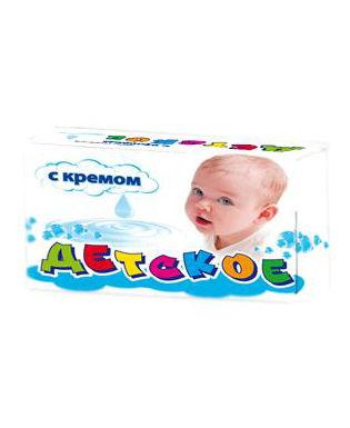 Мыло детское, с кремом, 150 грамм